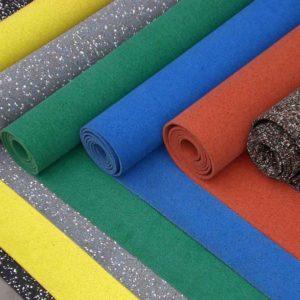 Резиновое спортивное покрытие Ewmet